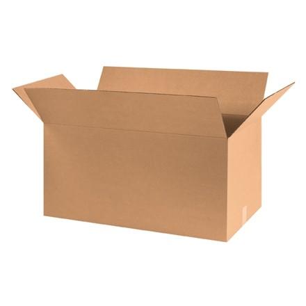 "Corrugated Boxes, 30 x 15 x 15"", Kraft"