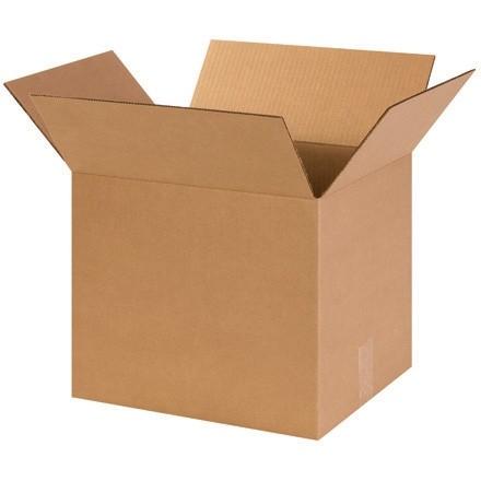 "Corrugated Boxes, 14 x 12 x 12"", Kraft"