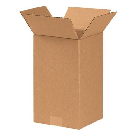 "Corrugated Boxes, 7 x 7 x 12"", Kraft"