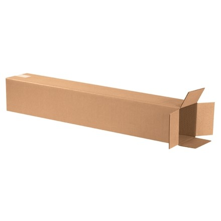 "Corrugated Boxes, 6 x 6 x 36"", Kraft"