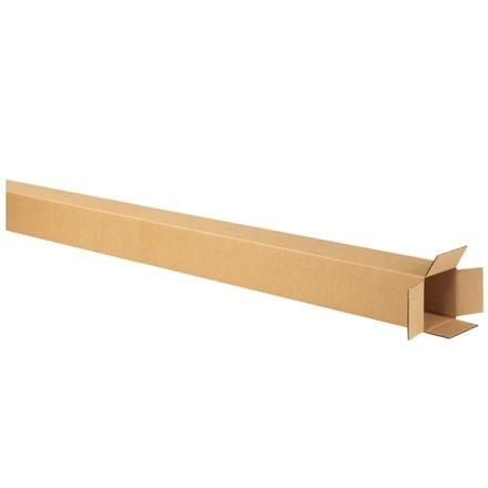 "Corrugated Boxes, 4 x 4 x 74"", Kraft"
