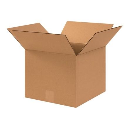 "Corrugated Boxes, 12 x 12 x 10"", Kraft"