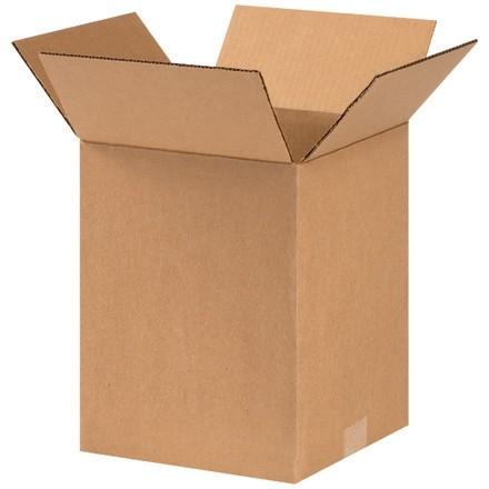 "Corrugated Boxes, 9 x 9 x 11"", Kraft"