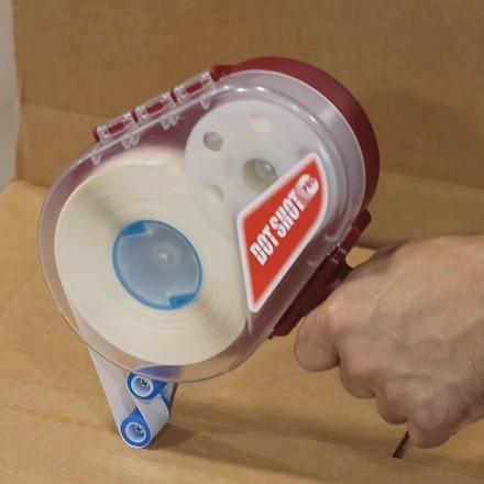 "Dot Shot® Glue Dots® - Low Profile, Low Tack, 1/2"""