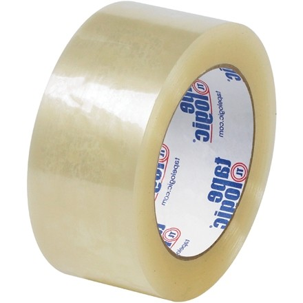 """Clear Carton Sealing Tape, Quiet, 2"""" x 55 yds., 2.6 Mil Thick"""