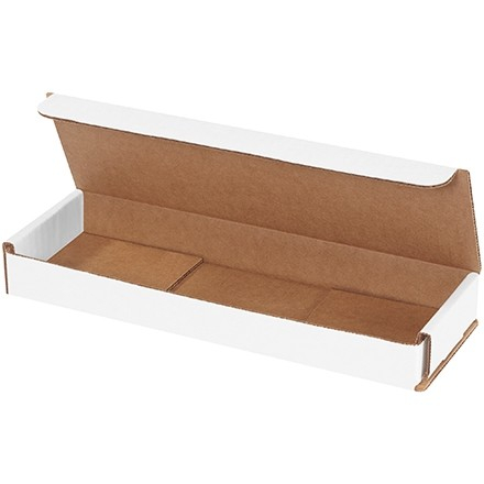 Indestructo Mailers, White, 10 x 3 x 1""