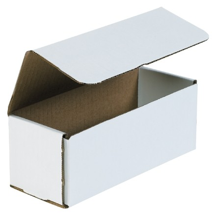 """Indestructo Mailers, White, 8 x 3 x 3"""""""