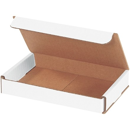 """Indestructo Mailers, White, 7 x 4 x 1"""""""