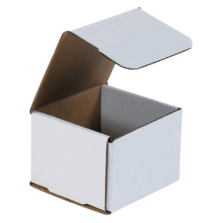 """Indestructo Mailers, White, 4 x 4 x 3"""""""