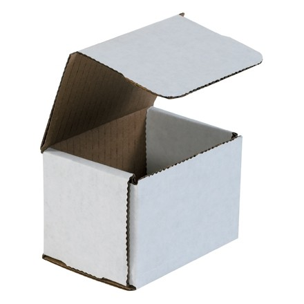 Indestructo Mailers, White, 4 x 3 x 3""