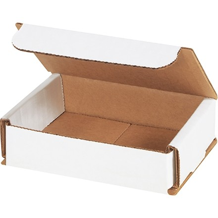 """Indestructo Mailers, White, 4 x 3 x 1"""""""