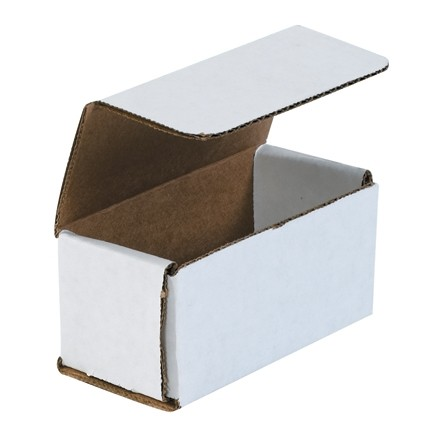 """Indestructo Mailers, White, 4 x 2 x 2"""""""