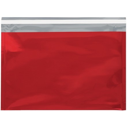 Glamour Mailers, Flat, Metallic Red, 9 1/2 x 12 3/4""