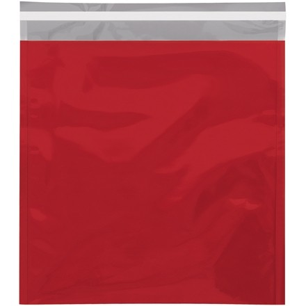 "Glamour Mailers, Flat, Metallic Red, 10 3/4 x 13"""
