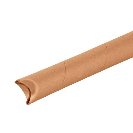 "Mailing Tubes, Snap-Seal, Round, Kraft, 1 1/2 x 9"", .060"" thick"
