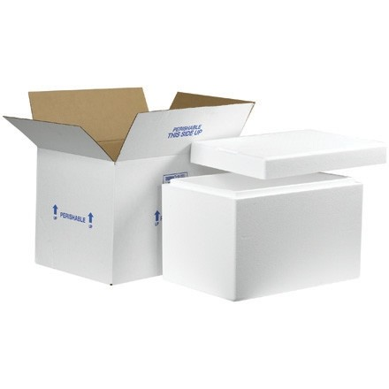 """19 x 12 x 12 1/2"""" Insulated Shipping Kits"""