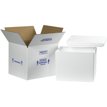 """13 3/4 x 11 3/4 x 11 7/8"""" Insulated Shipping Kits"""