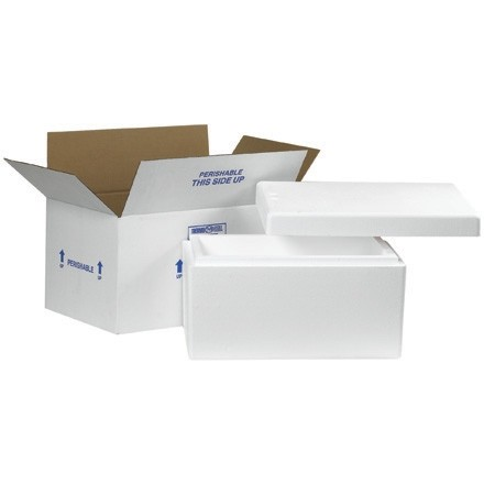 """17 x 10 x 8 1/4"""" Insulated Shipping Kits"""