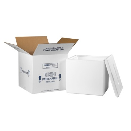 """13 x 13 x 12 1/2"""" Insulated Shipping Kits"""