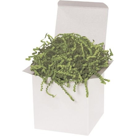 Crinkle Paper, Olive, 10 Pounds