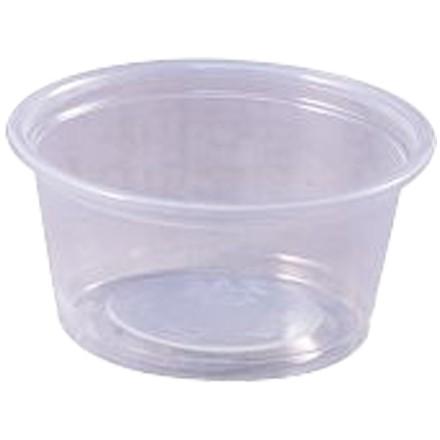 Plastic Portion Cups, 2 oz.