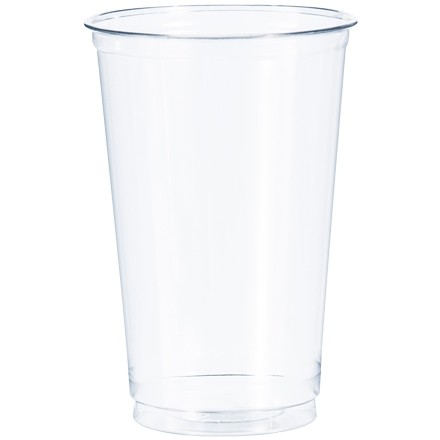 Dixie® Crystal Clear Plastic Cups, 20 oz.
