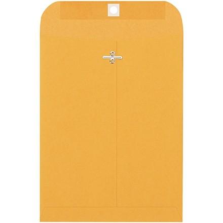 "Clasp Envelopes, Kraft, 7 1/2 x 10 1/2"""