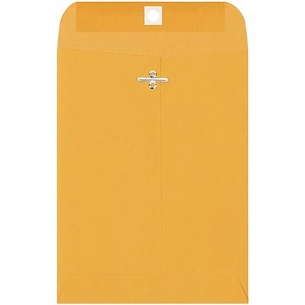 "Clasp Envelopes, Kraft, 6 1/2 x 9 1/2"""