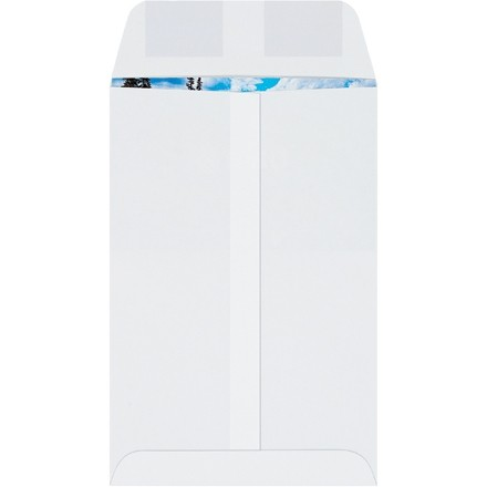 """Gummed Envelopes, White, 6 x 9"""""""