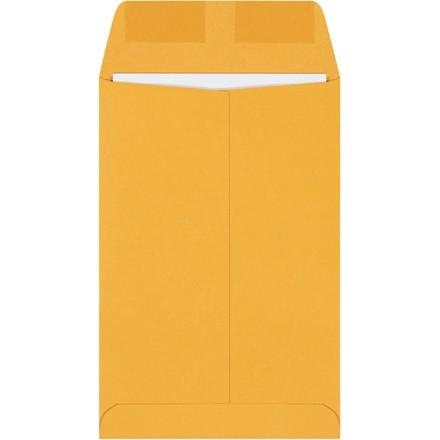"""Gummed Envelopes, Kraft, 6 x 9"""""""