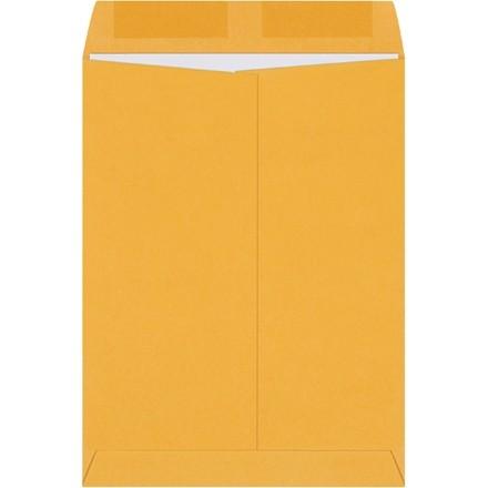 """Gummed Envelopes, Kraft, 9 x 12"""""""
