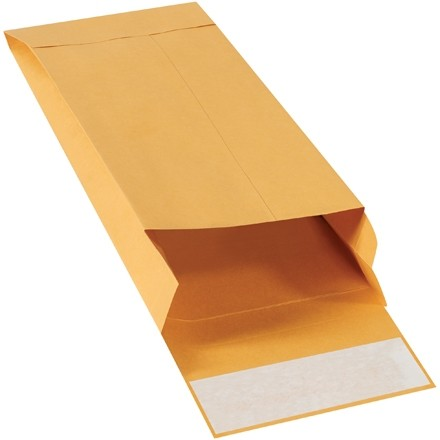 "5 x 11 x 2"" Kraft Expandable Self-Seal Envelopes"