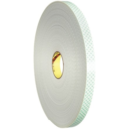 """3M 4008 Double Sided Foam Tape, 1/8"""" Thick - 1/2"""" x 36 yds."""