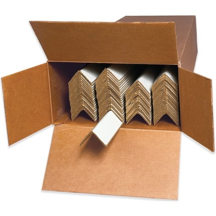 """Light Duty Edge Protectors - .120"""" Thick, 2 x 2 x 30"""" (Cased)"""