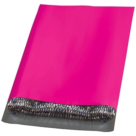 """Poly Mailers, Pink, 12 x 15 1/2"""""""