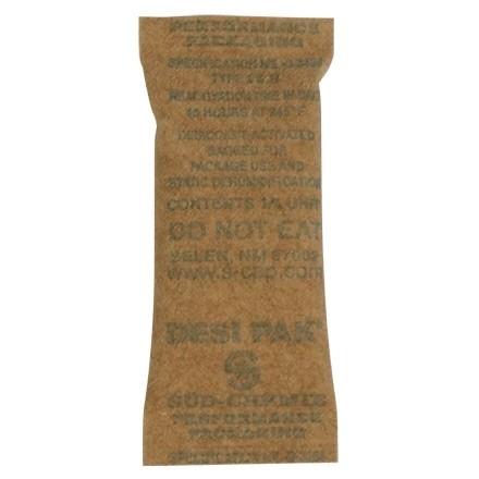"Kraft Clay Desiccants 1/6 Gram Size - 5 Gallon Pail, 1 x 2 1/2 x 1/4"""