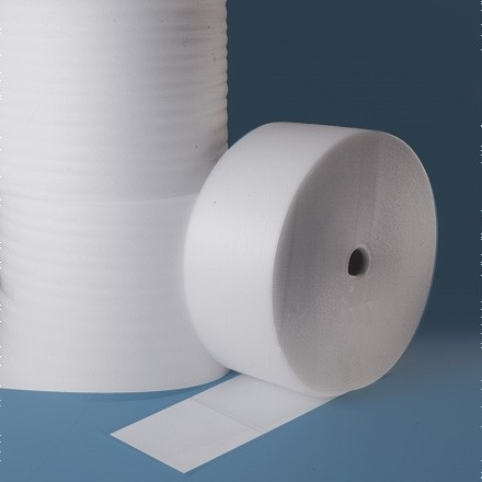"""Shipping Foam Rolls, 1/16"""" Thick, 48"""" x 1250', Perforated"""