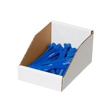 """White Corrugated Bin Boxes, 8 x 9 x 4 1/2"""""""