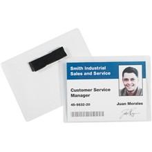 "4 x 3"" Magnetic Badge Holders"