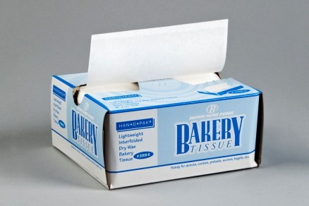 "White Bakery Deli Tissue Sheets , 6 x 10 3/4"""