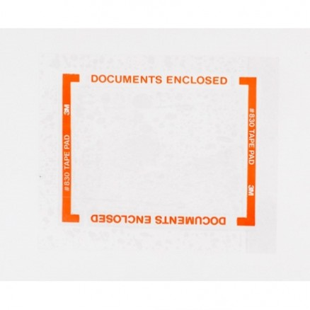 """3M 830 Pouch Tape Pads, 5"""" x 6"""""""