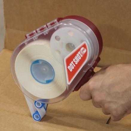 """Dot Shot® Stitch Pattern Glue Dots® - Low Profile, High Tack, 1/4"""""""