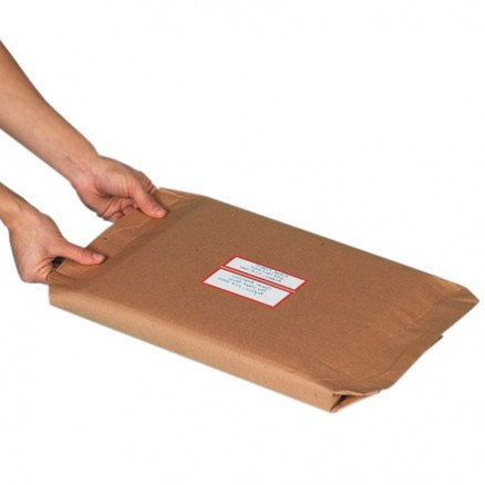 """Cohesive Corrugated Wrap Roll, 30"""" X 50"""