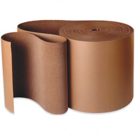 "Corrugated Wrap Roll, 48"" x 250', B Flute"