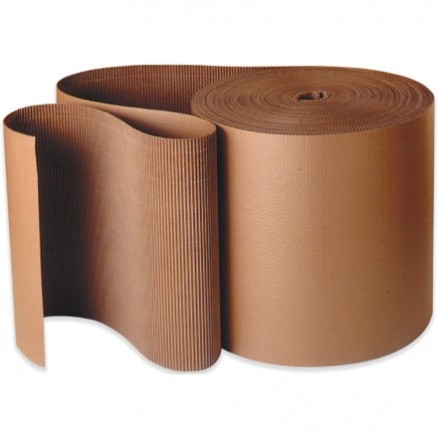"Corrugated Wrap Roll, 24"" x 250', B Flute"
