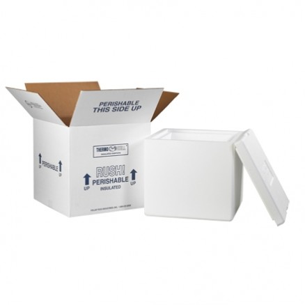 "12 x 12 x 11 1/2"" Insulated Shipping Kits"