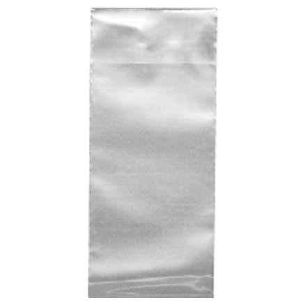 "Flap Lock Poly Bags, 11 x 14"", 2 Mil"