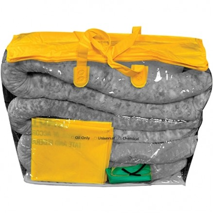 Zipper Bag Spill Kit, 5 Gallon