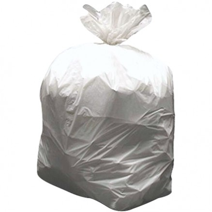 High Density Trash Liners, 7 - 10 Gallon, .2 Mil, Natural