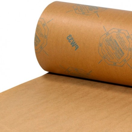 """Waxed VCI Paper Roll, 24"""""""